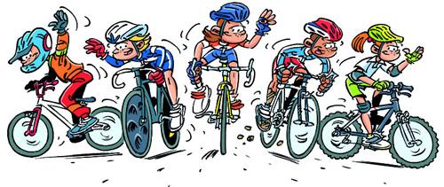 Les guidons de romill le v lo loisirs association sportive de romill section cyclo vtt - Dessin velo vtt ...