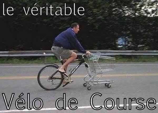 Le véritable vélo de course